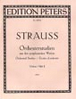 Strauss Richard : Orchestral Studies Vol.2