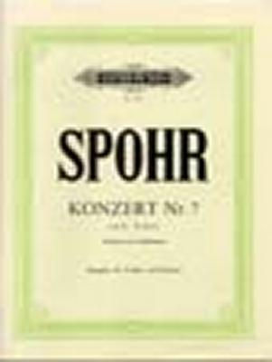 Spohr Louis : Concerto #7 in E minor Op.38