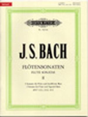 Bach Johann Sebastian : Flotensonaten II