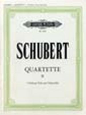 Schubert Franz : String Quartets, complete Vol.2