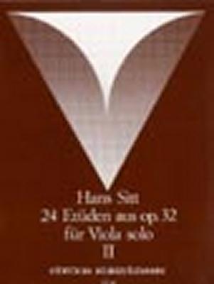 Sitt Hans : 12 Etudes from Op.32, Vol.2