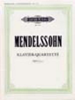 Mendelssohn-Bartholdy Felix : Piano Quartets, complete