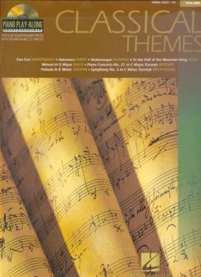 Piano Play Along Vol.08 Classical Themes Cd
