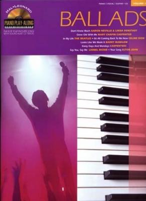 Piano Play Along Vol.11 Ballads Pvg Cd