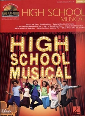 Piano Play Along Vol.51 High School Musical