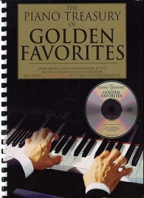 Piano Treasury Of Golden Favorites Cd