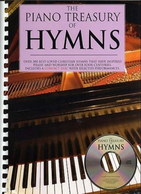 Piano Treasury Of Hymns Cd