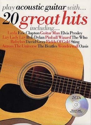 Play Acoustic Guitar With 20 Great Hits Tab 2Cd's