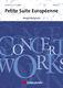 André Waignein: Petite Suite Européenne: Concert Band: Score