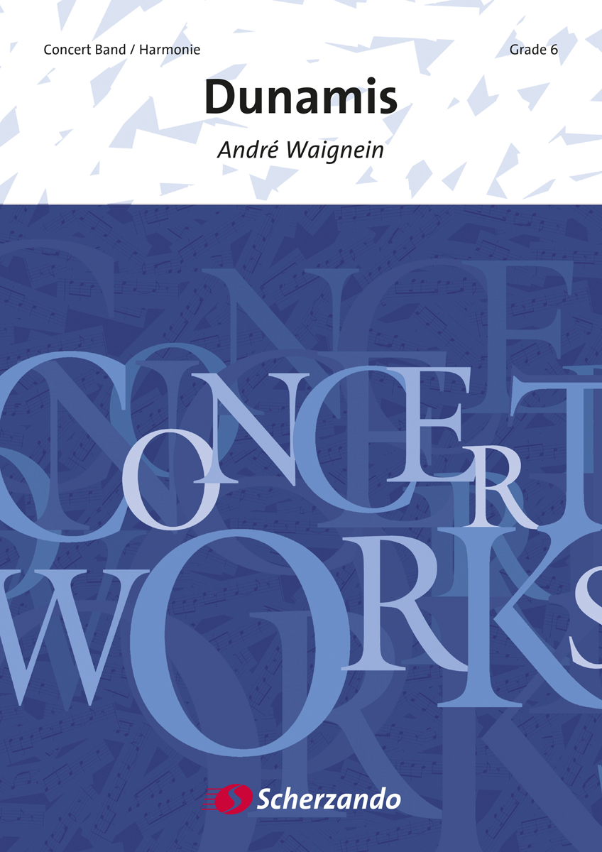 André Waignein: Dunamis: Concert Band: Score & Parts