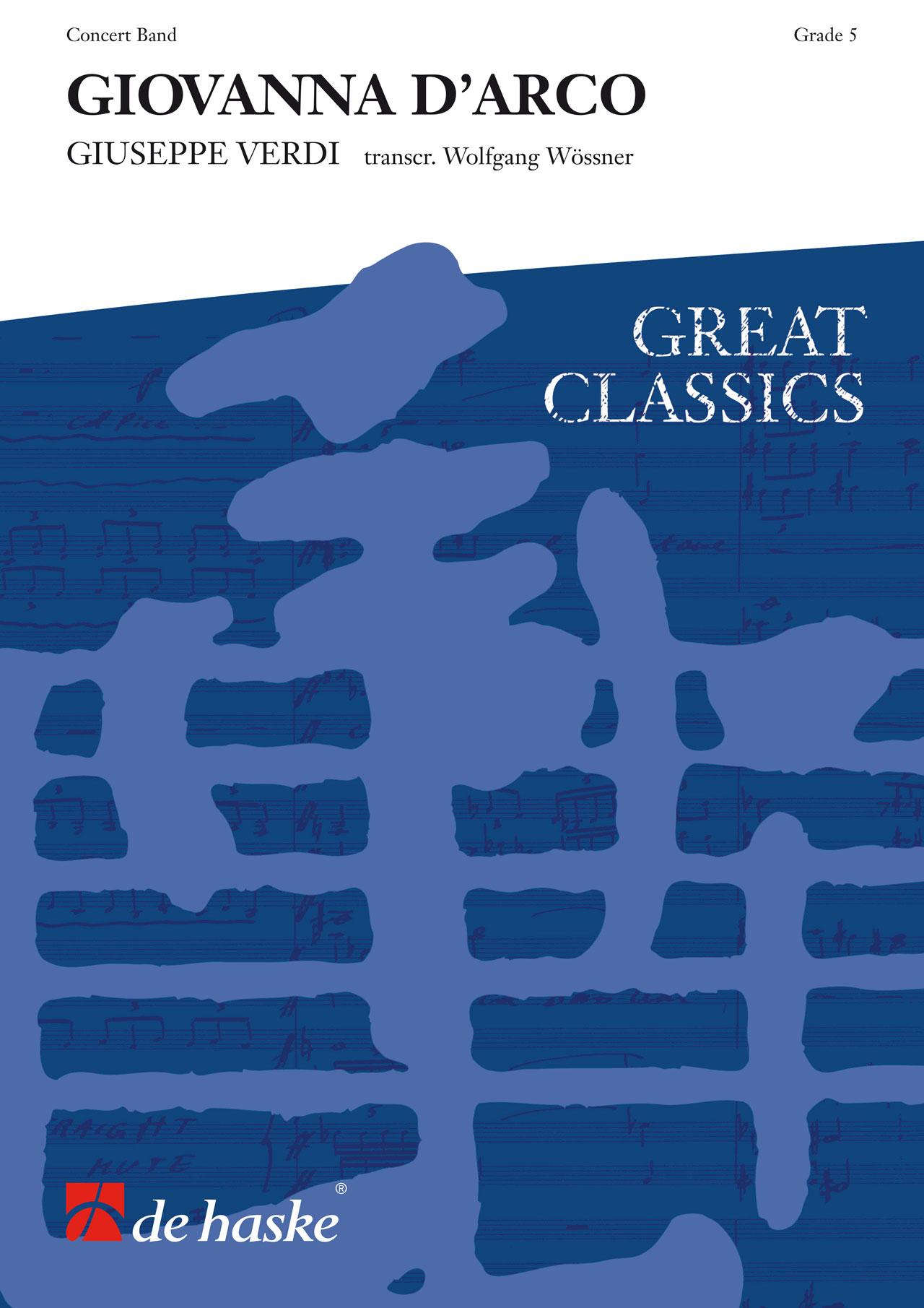 Giuseppe Verdi: Giovanna d' Arco: Concert Band: Score