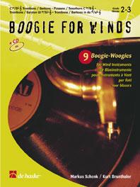 Markus Schenk Kurt Brunthaler: Boogie for Winds: Trombone or Euphonium:
