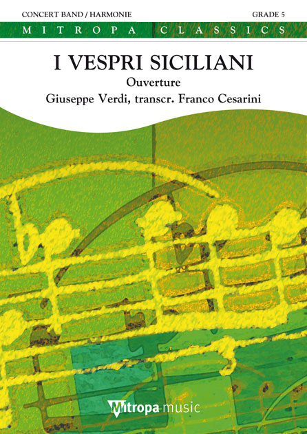 Giuseppe Verdi: I Vespri Siciliani: Concert Band: Score & Parts