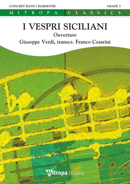 Giuseppe Verdi: I Vespri Siciliani: Concert Band: Score
