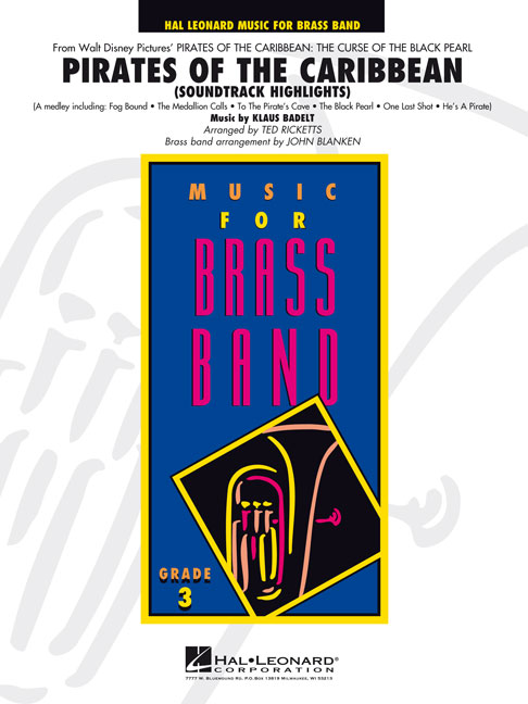 Klaus Badelt: Pirates of the Caribbean: Brass Band: Score & Parts