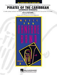 Klaus Badelt: Pirates of the Caribbean: Fanfare Band: Score