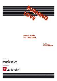 Dennis Linde: Burning Love: Fanfare Band: Score