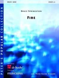Bruce Springsteen: Fire: Brass Band: Score & Parts