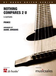Prince: Nothing compares 2 U: Guitar Ensemble: Score & Parts
