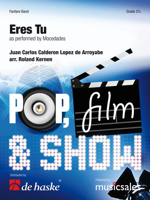 J.C.Calderon Lopez de Arroyabe: Eres Tu: Brass Band: Score
