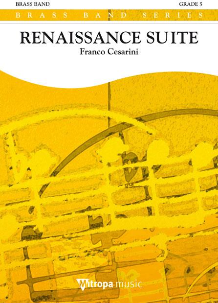 Franco Cesarini: Renaissance Suite: Brass Band: Score