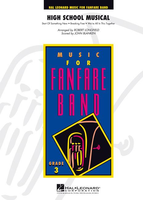 High School Musical: Fanfare Band: Score