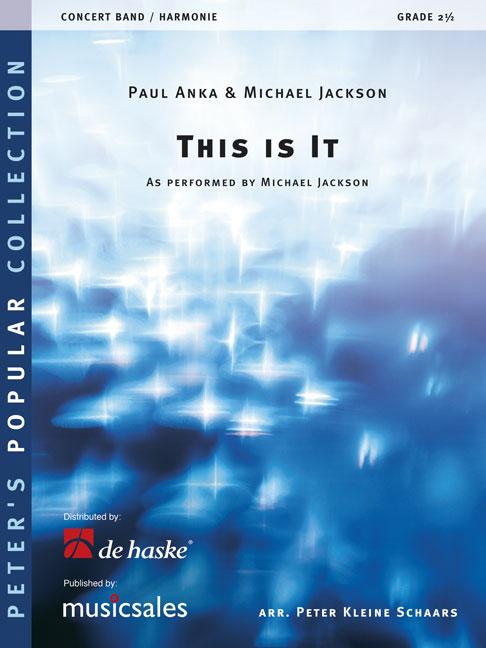 Michael Jackson Paul Anka: This is it: Concert Band: Score & Parts