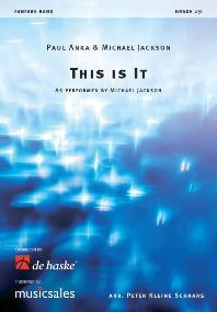 Michael Jackson Paul Anka: This is it: Fanfare Band: Score