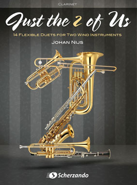 Johan Nijs: Just the 2 of Us: Clarinet Duet: Instrumental Work