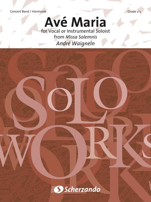 André Waignein: Ave Maria: Concert Band: Score & Parts