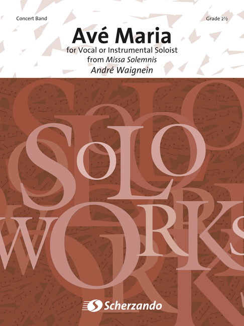 André Waignein: Ave Maria: Concert Band: Score