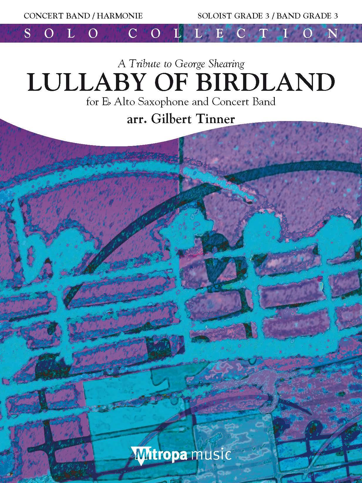 Lullaby of Birdland: Concert Band: Score & Parts