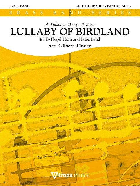 Lullaby of Birdland: Brass Band and Solo: Score