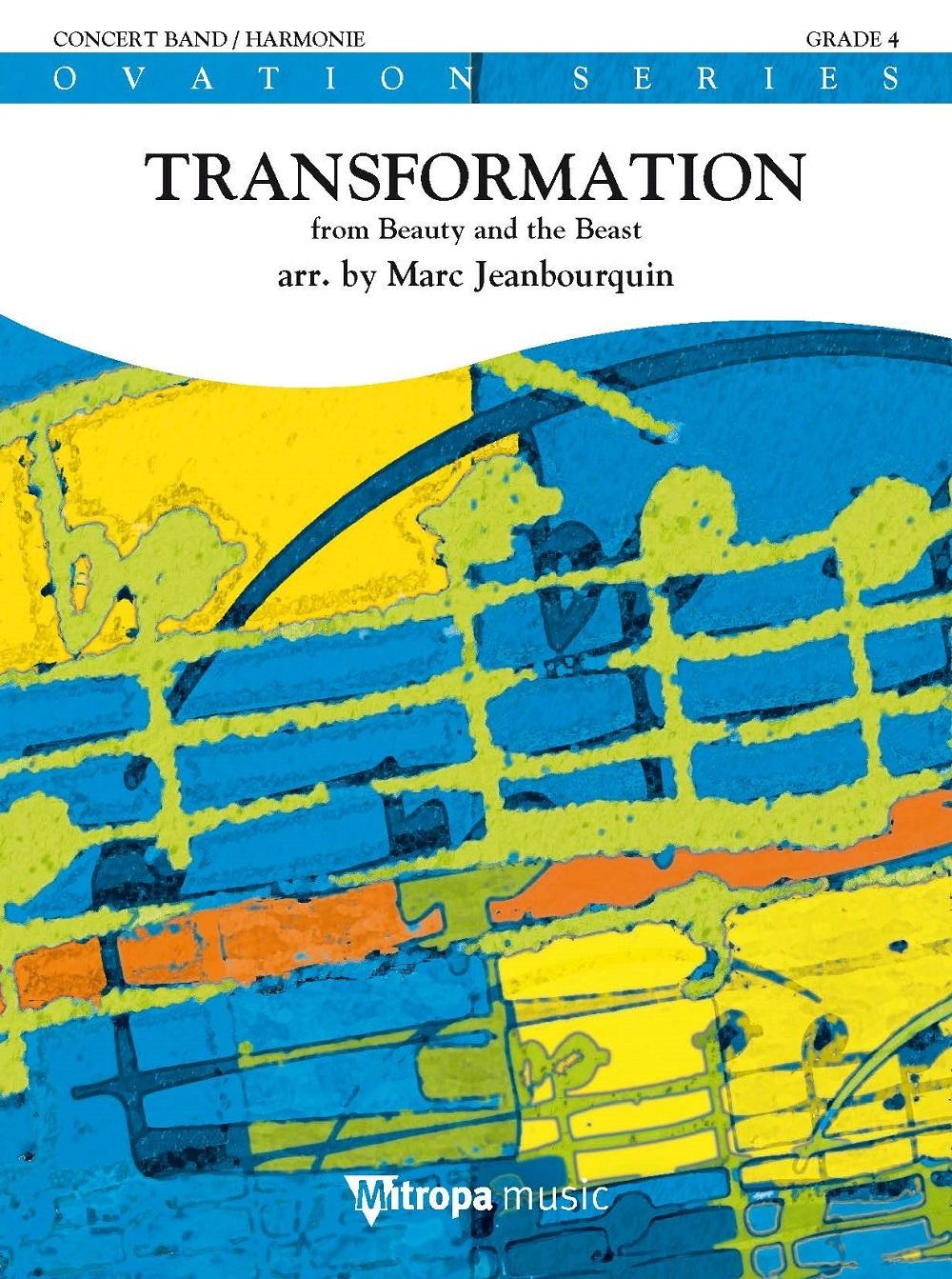 Alan Menken: Transformation: Concert Band: Score & Parts