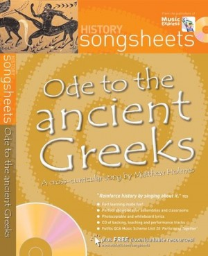 Matthew Holmes: Ode to the Ancient Greeks: Vocal: Vocal Score