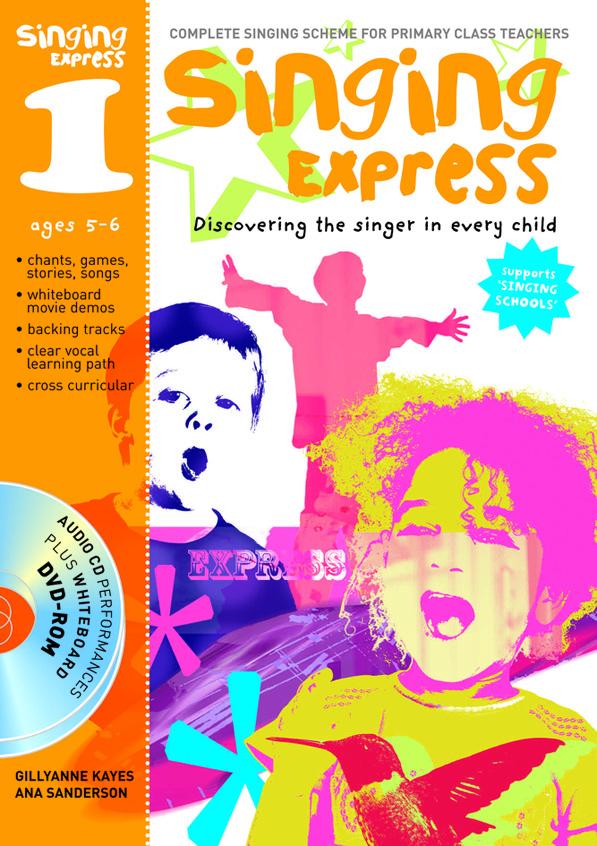 Ana Sanderson: Singing Express 1: Vocal: Vocal Tutor