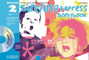 Ana Sanderson: Singing Express Songbook 2: Piano  Vocal  Guitar: Vocal Tutor