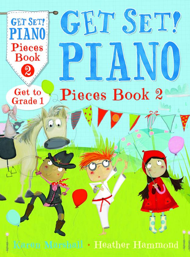 Karen Marshall: Get Set! Piano Pieces Book 2: Piano: Instrumental Album
