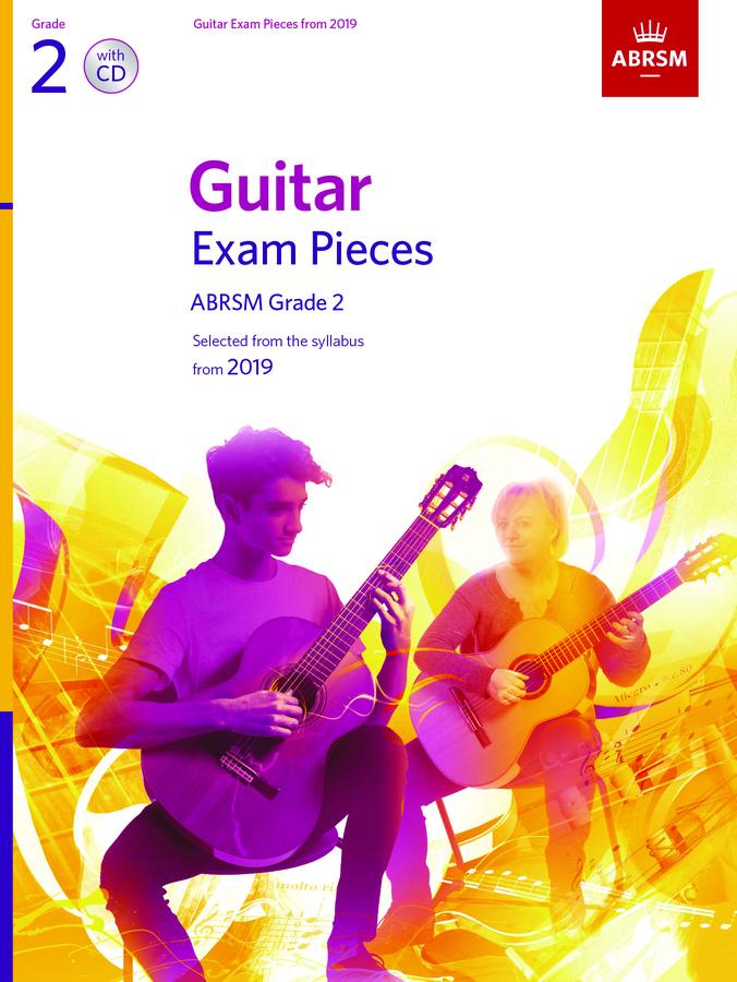 Guitar Exam Pieces from 2019 Grade 2 + CD: Guitar: Instrumental Tutor