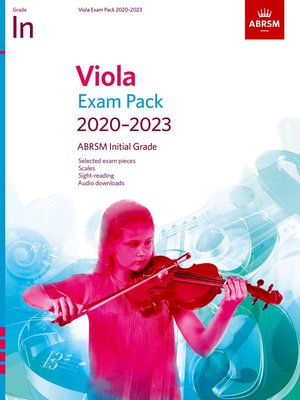 Viola Exam Pack 2020-2023 Initial Grade: Viola: Instrumental Album