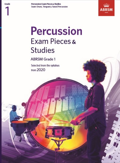 Percussion Exam Pieces & Studies Grade 1: Percussion: Instrumental Tutor
