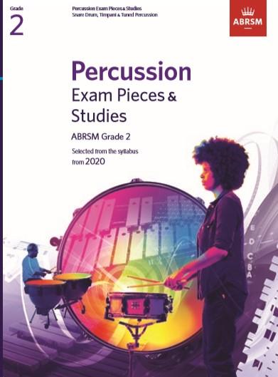 Percussion Exam Pieces & Studies Grade 2: Percussion: Instrumental Tutor