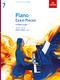 Piano Exam Pieces 2021 & 2022 - Grade 7: Piano: Instrumental Tutor