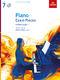 Piano Exam Pieces 2021 & 2022 - Grade 7 + CD: Piano: Book & CD