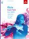Flute Exam Pack 2022-2025 Grade 4: Flute Solo: Instrumental Tutor