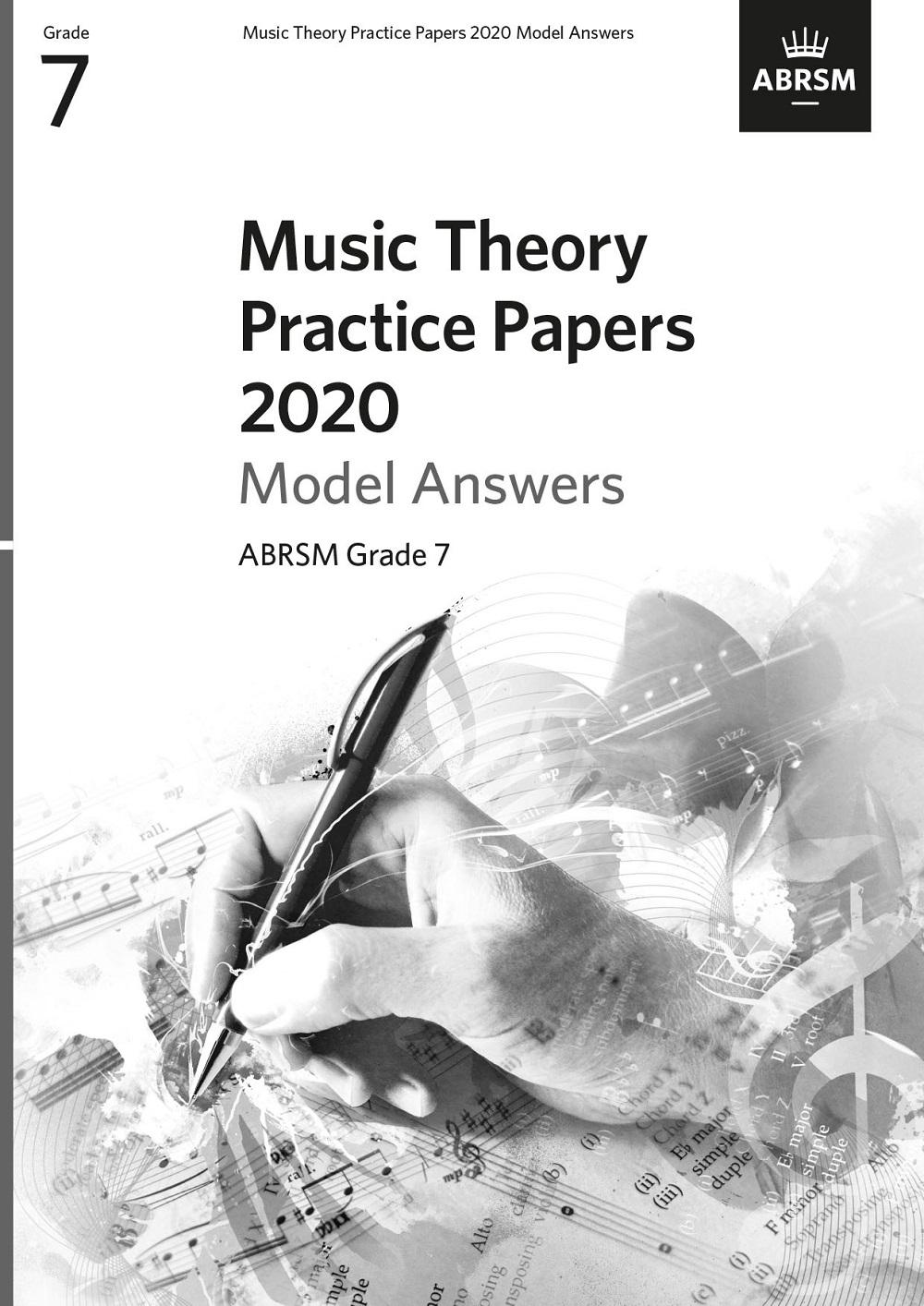 Music Theory Model Answers 2020 Grade 7: Theory