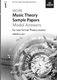 More Music Theory Model Answers Grade 1: Theory