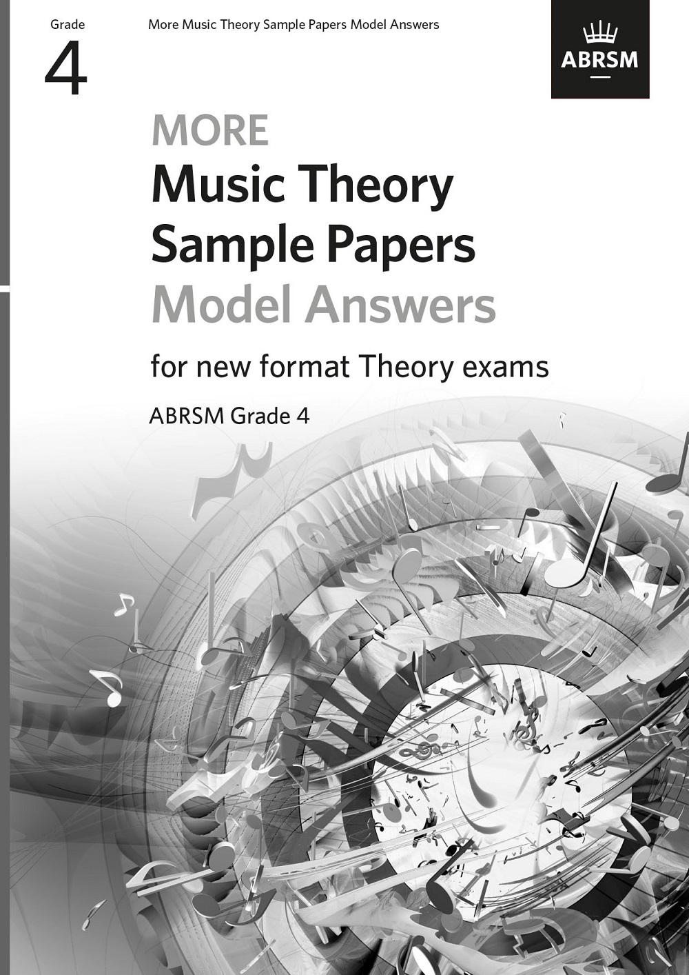 More Music Theory Model Answers Grade 4: Theory