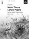More Music Theory Sample Papers Grade 3: Theory