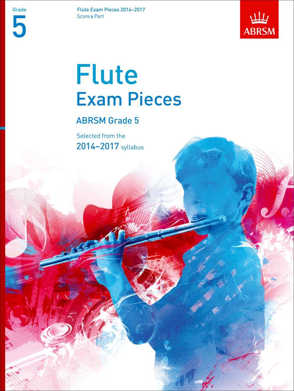 Flute Exam Pieces 2014-2017  Grade 5: Flute
